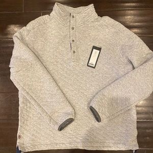 Men's Rhone Quilted Gramercy pullover Size Large